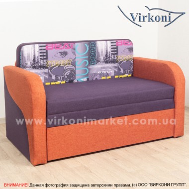 Прямой детский диван Virkoni Лесик 800 SF02