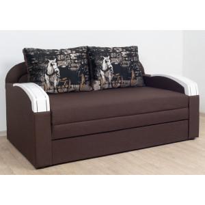 Прямой диван Virkoni Кубус 1600 SF41