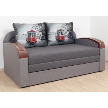 Прямой диван Virkoni Кубус 1600 SF06