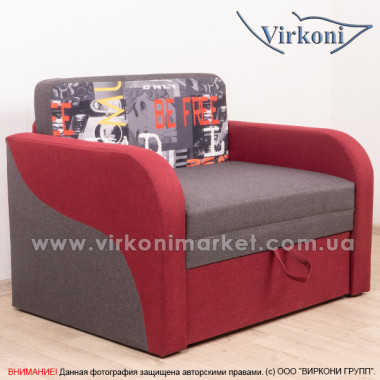 Прямой детский диван Virkoni Лесик 1100 SF01
